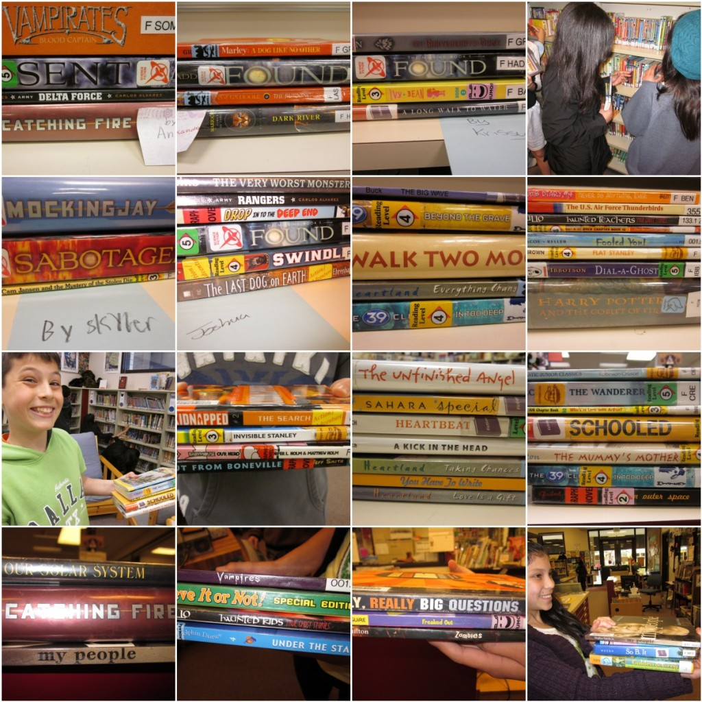 Bulldog Reader Book Spine Poems