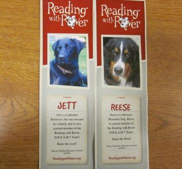 Here are Jett and Reese's bookmarks.