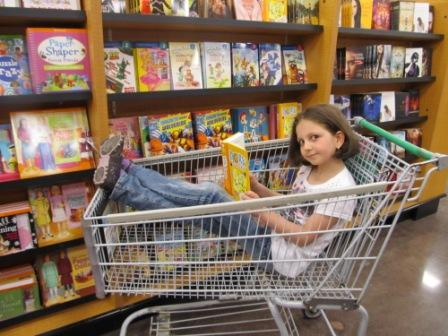 Ayla takes shopping to a new level!