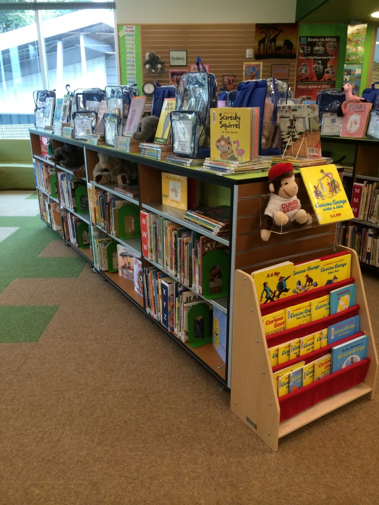 picture book displays