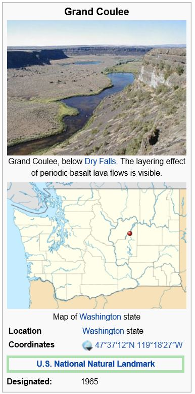 http://en.wikipedia.org/wiki/Grand_Coulee