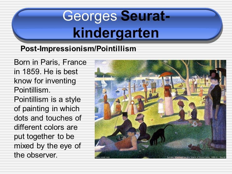 kindy seurat