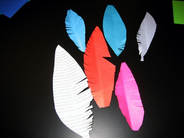 Feather bookmarks1