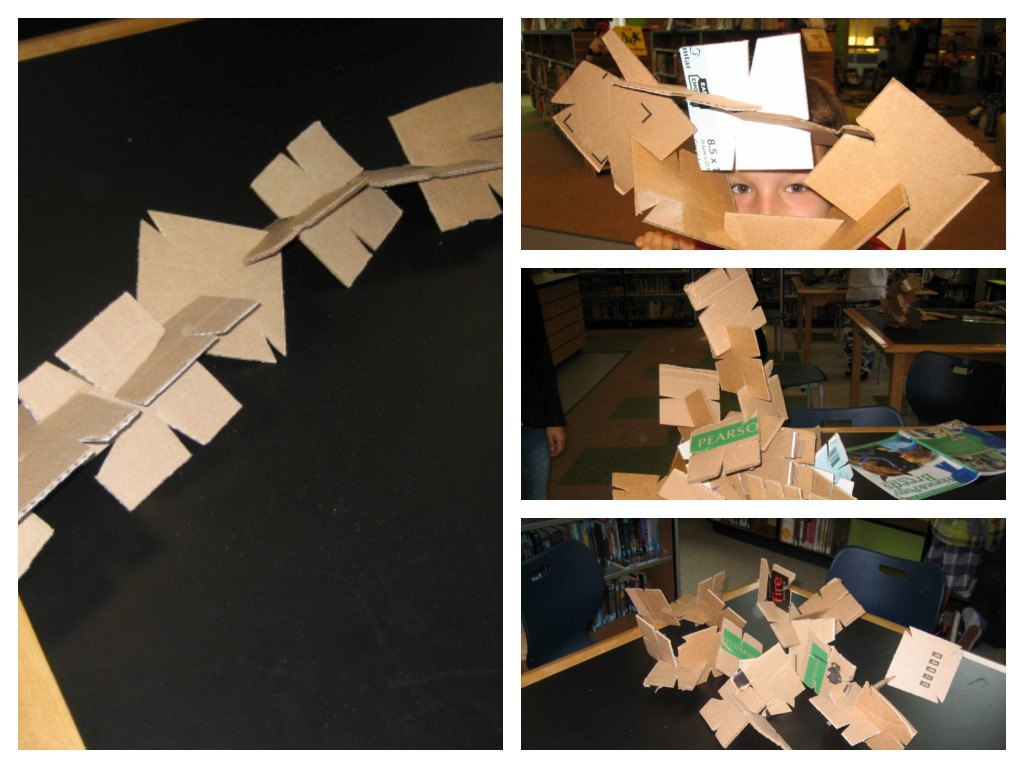 cardboard structures