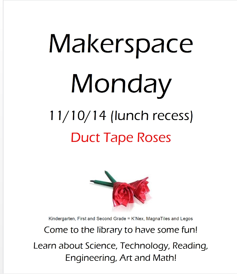 makerspace weeklyy poster