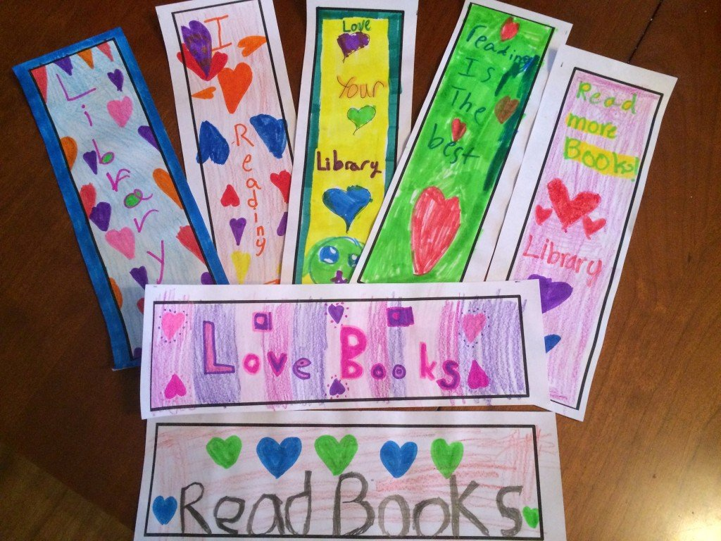 bell bookmarks